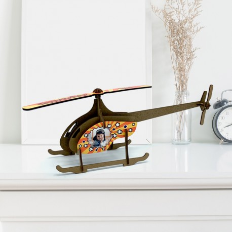 PUZZLE 3D HELICOPTERO