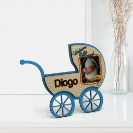 FRAME - BLUE BABY CARRIAGE