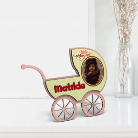 FRAME - PINK BABY CARRIAGE